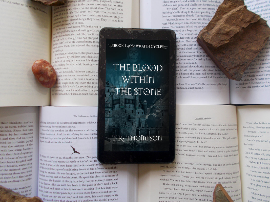 The Blood within the Stone a gripping debut YA Fantasy novel
